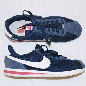 Nike Cortez • Navy & Red • Women's size:8